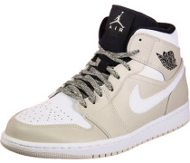 1 Mid Schuhe Herren beige weiß