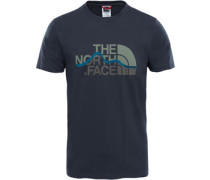 Mountain Line T-Shirt Herren grau
