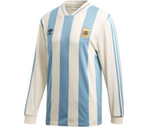 adida Argentinia Longleeve Herren weiß blau EU
