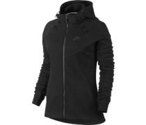 Tech Fleece W Hooded Zipper schwarz