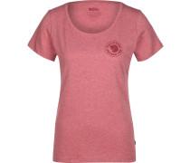 1960 Logo Damen T-Shirt rot meliert