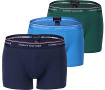 3p Trunk Herren Boxerhort grün blau türki