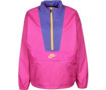 Icon Clash Damen Windbreaker pink