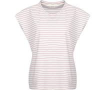 Pickford Damen T-Shirt weiß rot gestreift