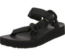 Midform Universal W Sandalen schwarz