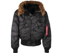 45 P Hooded Jacke Herren black cao