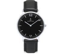 Campus Silver Uhr schwarz