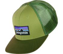 P-6 Logo Trucker Cap grün