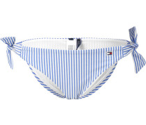 Tommy Hifiger Side Tie Bikini Untertei Damen bau weiß gestreift