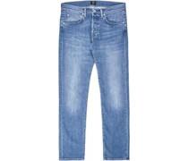 Ed-55 Regular Tapered Stretch Jeans blau