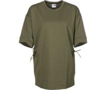 Lacing Crew W T-Shirts T-Shirt oliv oliv