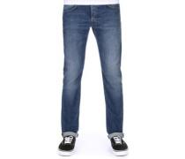 Ed-55 Regular Tapered Jeans night blue trip