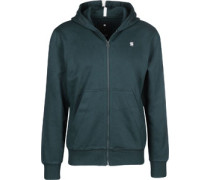Core zip hooded Hooded Zipper Herren blau EU