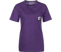 Carrie Pocket W T-Shirt Damen lila EU
