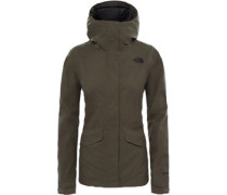 All Terrain Zip-In W Regenjacke Damen oliv EU