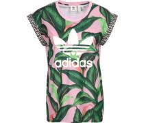 W T-Shirts T-Shirt pink grün pink grün