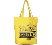 Peanuts Squad Tasche regular yellow