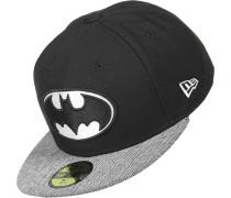 Herringbone Visor Batman Cap schwarz grau