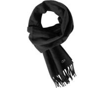 Woven Schal schwarz