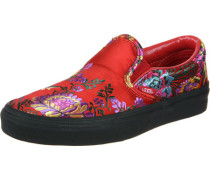 Classic Slip-On Schuhe (festival satin) red/blk EU