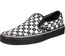 Classic Slip-On Schuhe schwarz weiß EU