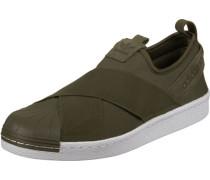 Superstar SlipOn Schuhe oliv weiß