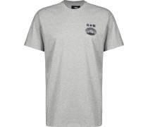 Fuji San Herren T-Shirt grau eliert