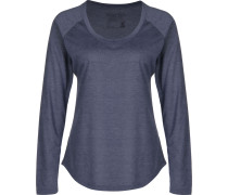 L/S Cap Cool Trail Damen T-Shirt blau