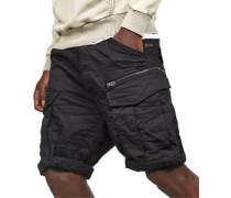 Rovic zip loose 1/2 Shorts Herren schwarz