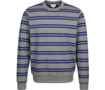 Stripe Sweater grau eliert blau grau eliert blau