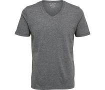 Seected SHHThePerfect V-Neck Herren T-Shirt schwarz meiert