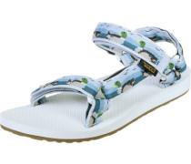 Original Universal W Sandalen blau weiß