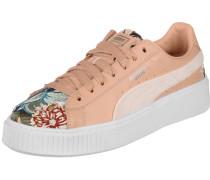 Platform Hyper Emb Schuhe Damen pink