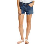 501 W Shorts waveline med indigo