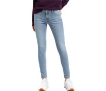 710 Innovation Super Skinny Jeans Damen aviator blue