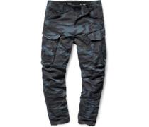 Rovic 3d tapered Hose blau schwarz