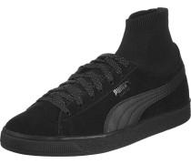 Suede Classic Sock Schuhe schwarz