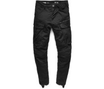 Rovic Zip 3d tapered Hose schwarz