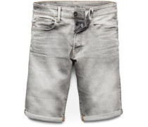 3301 Slim Shorts Herren grau