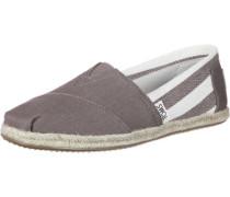 Alpargata Schuhe braun weiß
