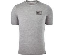 Cap Daily Graphic Herren T-Shirt grau