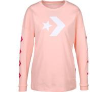 Longsleeve Damen pink