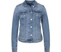 Basic Jeansjacke Damen mid blue