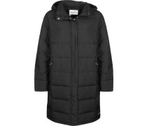 Light Weight Long Daunenjacke Damen schwarz