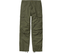 Cargo Regular Herren Hose rover green rinsed