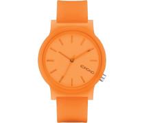 Mono Uhr orange