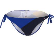 Archive Club Side Tie Damen Bikini Unterteil blau gelb