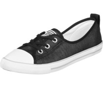 All Star Lace W Ballerinas schwarz
