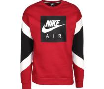 Sweater rot weiß schwarz