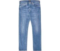 Ed-80 Slim Cs Power Jeans blau